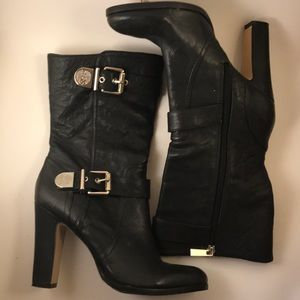 Vince Camuto leather boots BRAND NEW!